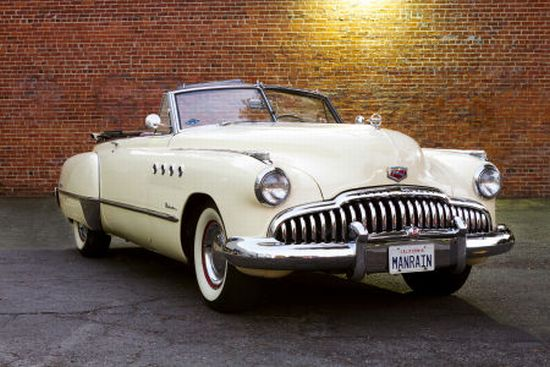 'Rain Man' 1949 Buick Roadmaster Convertible