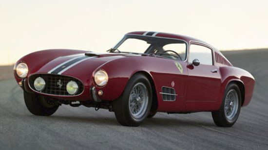 'The Love Bug' 1956 Ferrari 250 GT LWB Berlinetta 'Tour de France' by Carrozzeria Scaglietti