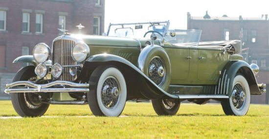 1931 Duesenberg Model J Tourster