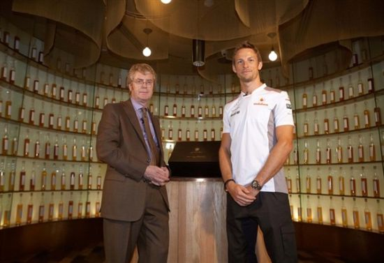 Johnie Walker's McLaren Mercedes edition £30,000 whisky inspired by Formula One driver Jenson Button