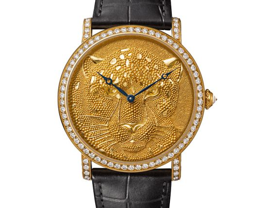 Rotende de Cartier 42mm Panther with Granulation