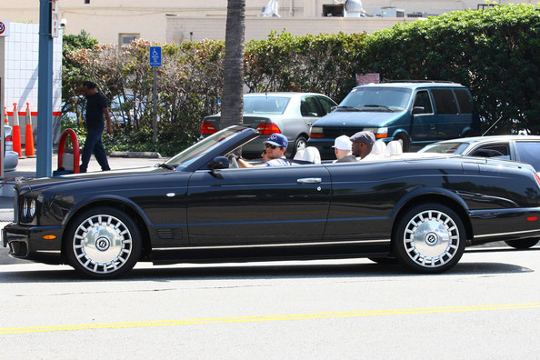 photo of Mark Wahlberg Bentley Azure - car