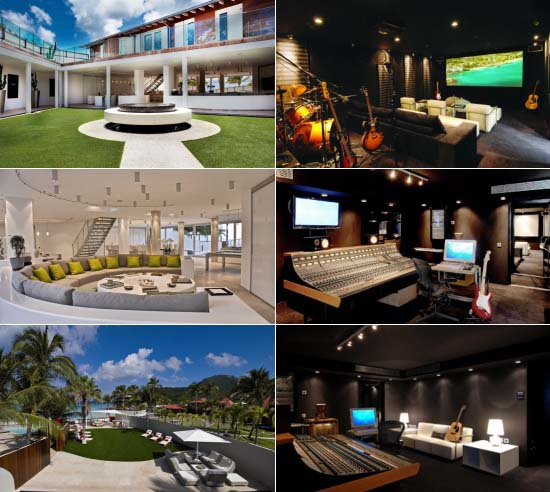 Music recording dreams are now a reality at Villa Rockstar at Eden Rock - St Barths