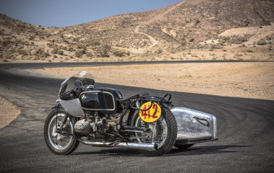 A vintage BMW Rennsport motorcycle leads the Las Vegas Motorcycle Auction at $167,800