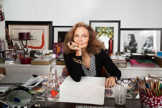evian's 2013 limited edition bottle by Diane von Furstenberg reflects a playful celebration of life