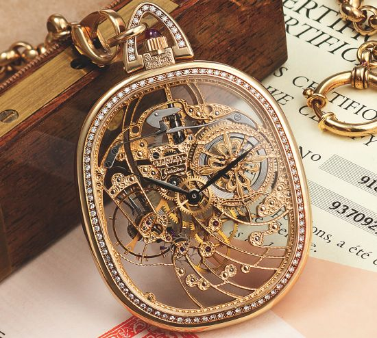 Patek Philippe Ref.918 18K yellow gold ellipse-shaped skeletonized keyless dress watch