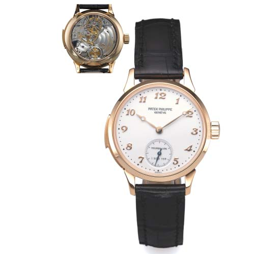 Patek Philippe Ref. 3939 Tourbillon Minute Repeater Enamel Dial Pink Gold