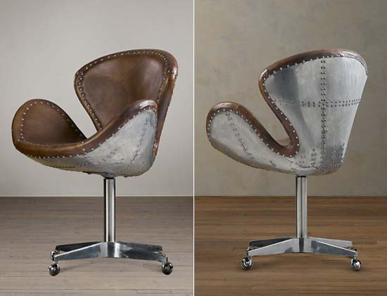 Devon Spitfire leather chair