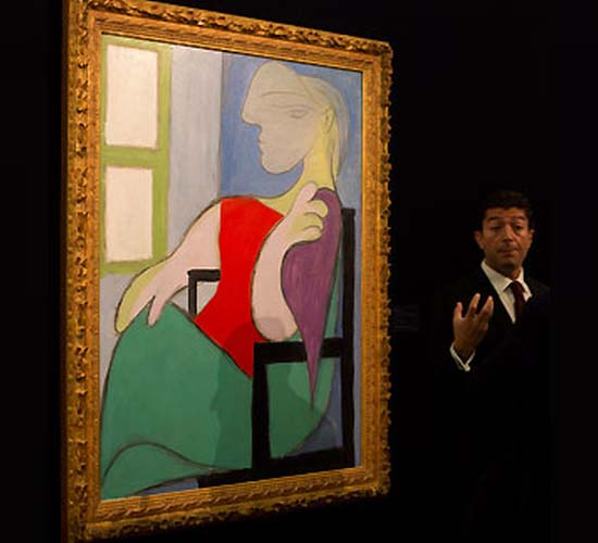 Picasso's 'Golden Muse' Sells For $45 Million At Sotheby's London
