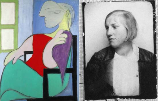 Picasso's iconic portrait of his 'Golden Muse' Marie-Thérèse Walter