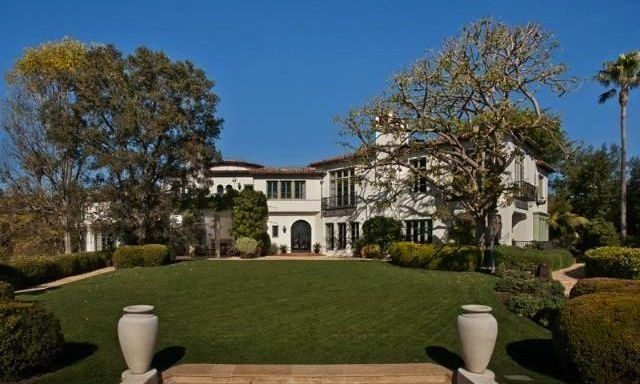 Sultan of Brunei's former Spanish Colonial estate overlooking his Beverly Hills Hotel listed for $38M