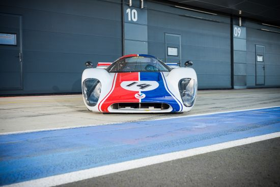 McQueen's 1969 Lola T70 MKIII B from classic movie Le Mans