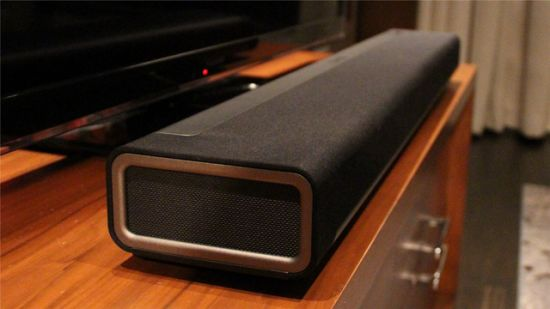 Sonos PLAYBAR: An iPhone controlled wireless HiFi Soundbar that streams music through one player