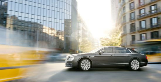 Bentley's most powerful 4-door model 2014 Flying Spur to make its global debut at the Geneva Motor Show