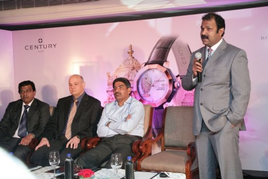 World's First Single Sapphire Lord Venkateswara Edition Wristwatch