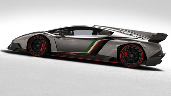 Road-Going Super Sports Car Lamborghini Veneno