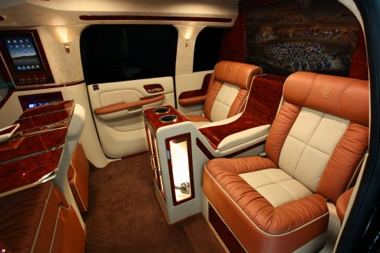 Lexani Motorcars' GMC Yukon XL Conversion Coach
