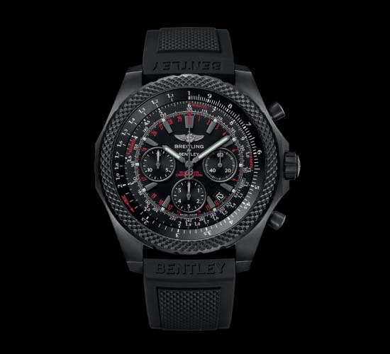 Bentley light body Midnight carbon watch