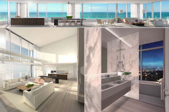Residences at Ian Schrager's Miami Beach EDITION Hotel