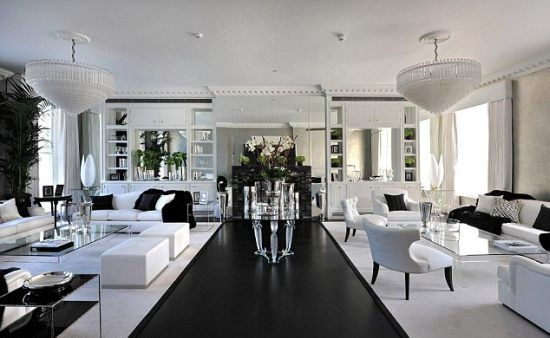 One Cornwall Terrace living space