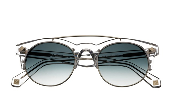 Hardy Amies crystal acetate sunglasses