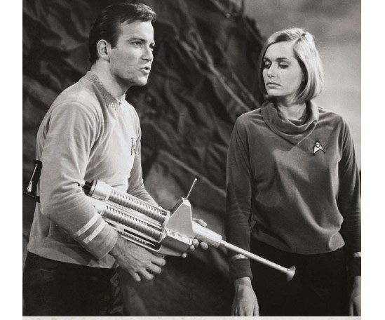 William Shatner Star Trek Rifle