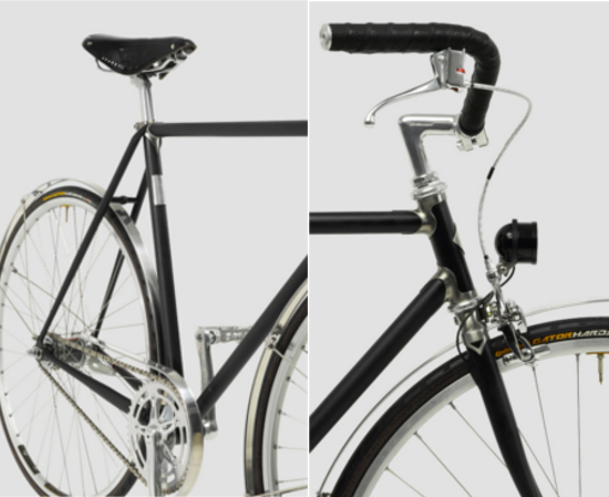 Vickers English Roadster SL Bicycle craftsmanship