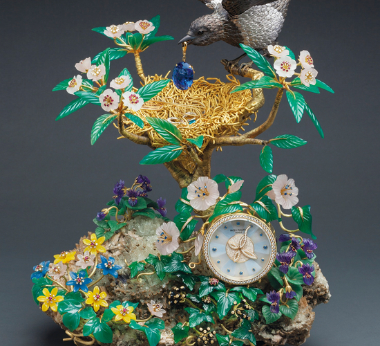 The Magpie's Nest Clock from Patek Philippe