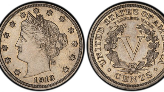 1913 Liberty Nickel coin is one of the rarest forms American currency ever minted