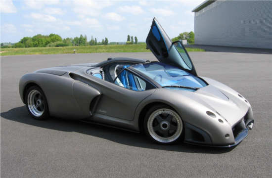 1998 Lamborghini Pregunta concept car designed just one month before Lamborghini's sale to Audi VW
