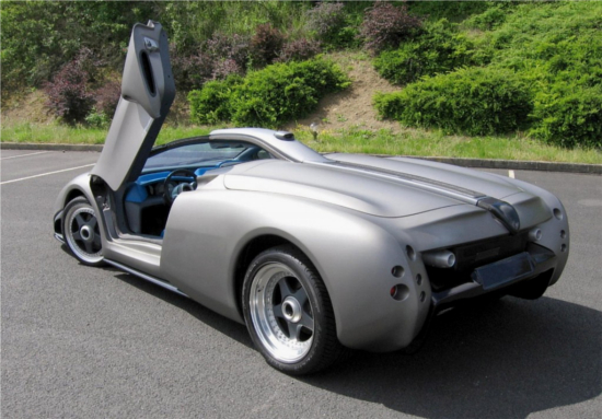 1998 Lamborghini Pregunta concept car was meant to question design norms of that time