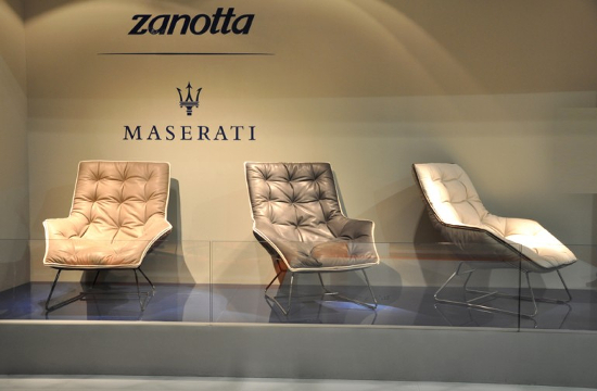 The Maserati Zanotta lounge chair created by Ludovica and Roberto Palomba