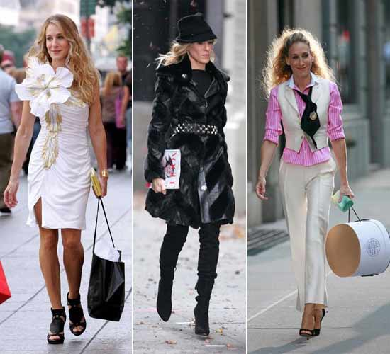 Sarah Jessica Parker's multiple avatars during the shoot of the movie and television series