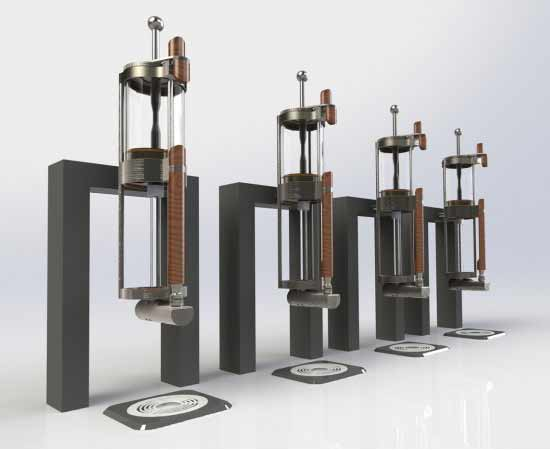 Alpha Dominche Steampunk 4.0 coffee machine has a variety of options to choose from
