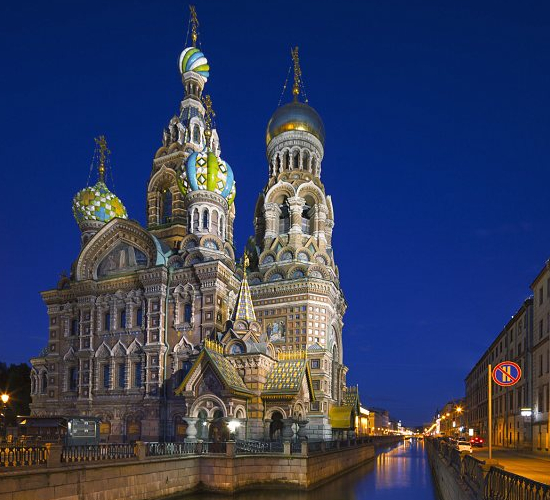 Church of the Spilled Blood in Russia