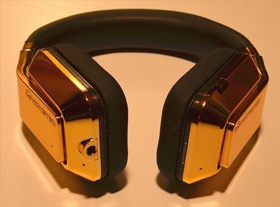 Nobeline 24K gold Monster Inspiration headphones