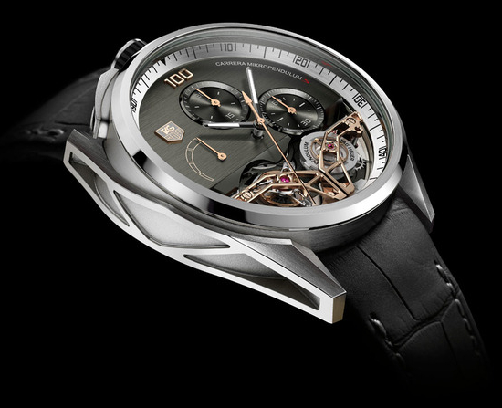 Tag Heuer MikroPendulum S Watch side view
