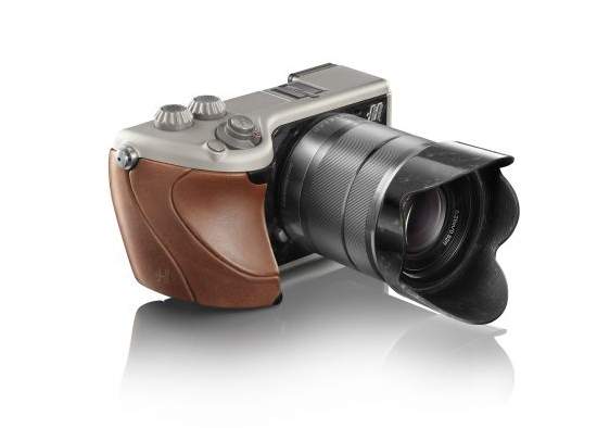 Hasselblad Lunar Brown Tuscan leather and Titanium