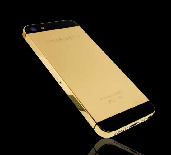 Golden Dreams Mansory edition iPhone5 has been created in a limited edition of 50 units