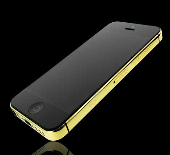 Golden Dreams Mansory edition iPhone5 with 64GB memory
