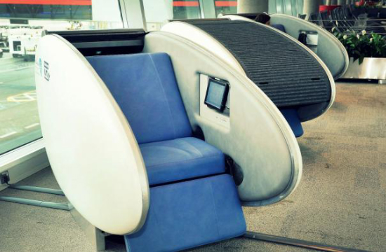 GoSleep sleeping pods can be used for £8 an hour