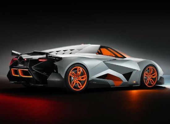 Lamborghini Egoista has a single driver seating arrangement