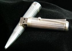 sterling silver usb pen