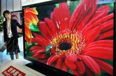 Panasonic Displays Its 103-inch Plasma TV