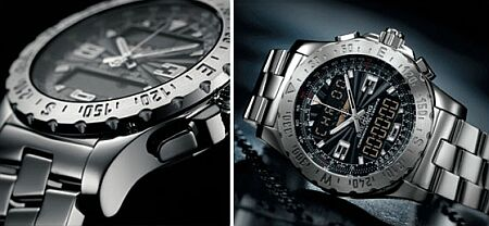breitling electronic chronograph
