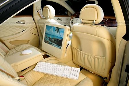 ultra luxury in car pc
