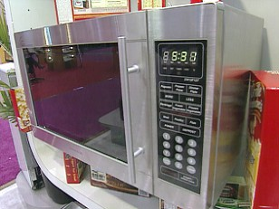 voice recognition microwave