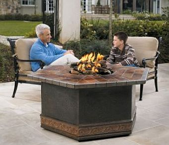 outdoor gas log fireplace 12