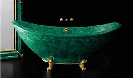teti malachite baldi bath tub