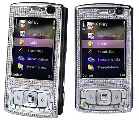 diamond encrusted nokia n95